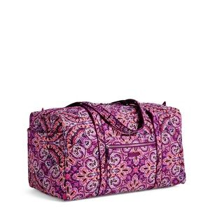 Vera Bradley Dream Tapestry Iconic Large Duffel